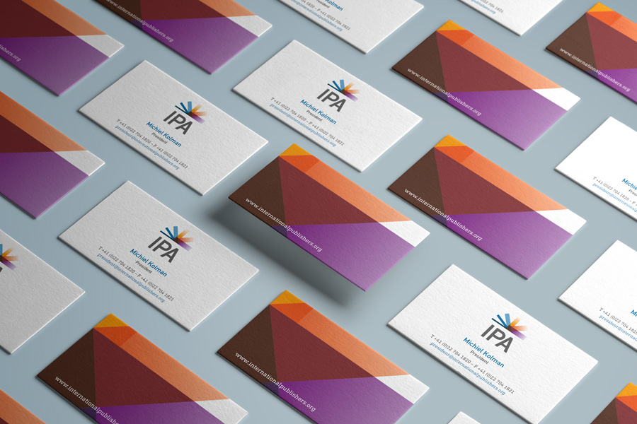 International Publishers Association – Business cards